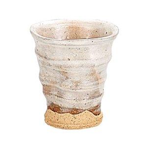 画像1: 【まったり】粉引ヒネリフリーカップ