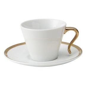 画像1: 【カップ&ソーサーコレクション】OPEN コーヒー碗 ゴールド
