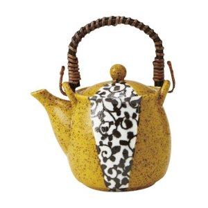 画像1: 【IROHA】土瓶 黄