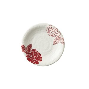 画像1: 【MIHANA】6寸皿 赤