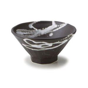 画像1: 【TENGU】4.8寸飯碗 黒