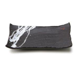 画像1: 【TENGU】角皿(小) 黒