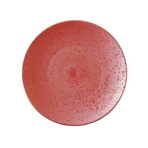 画像1: 【SHIBUKI】22cmプレート 赤