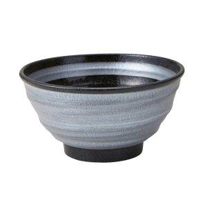 画像1: 【SAI -彩-】19cm深丼 銀