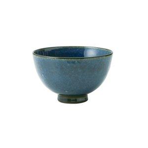 画像1: 【飯碗コレクション】群青飯碗 大